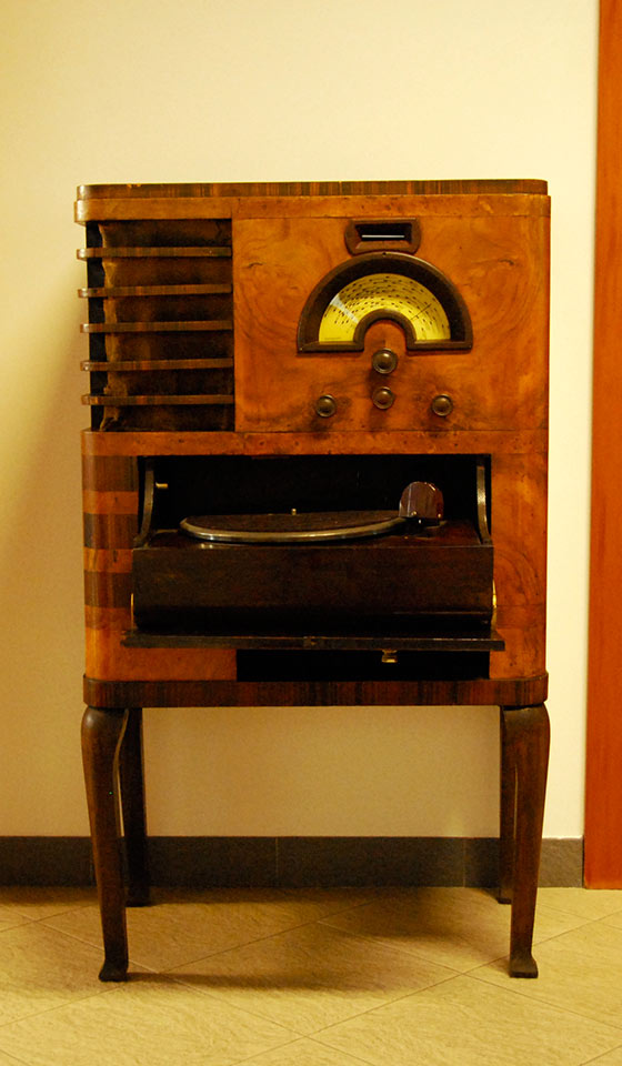 Radio Vintage con Mobile