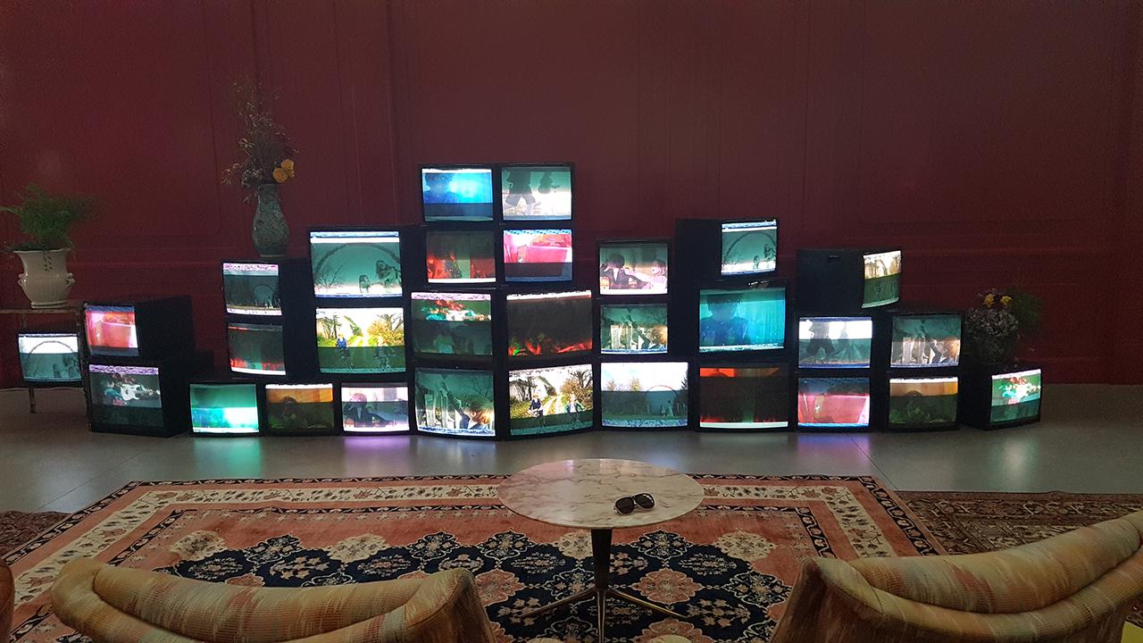 Videowall vintage da 21 e 28 Pollici