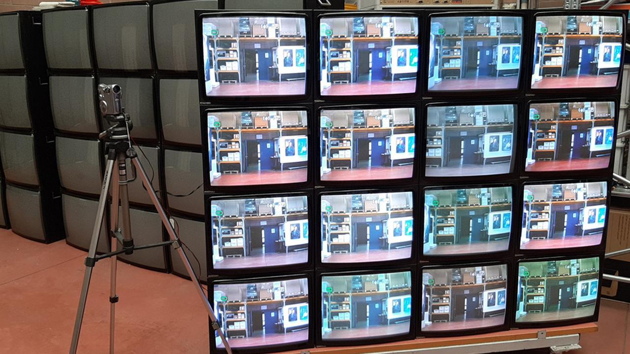 Monitor da 21 pollici hantarex